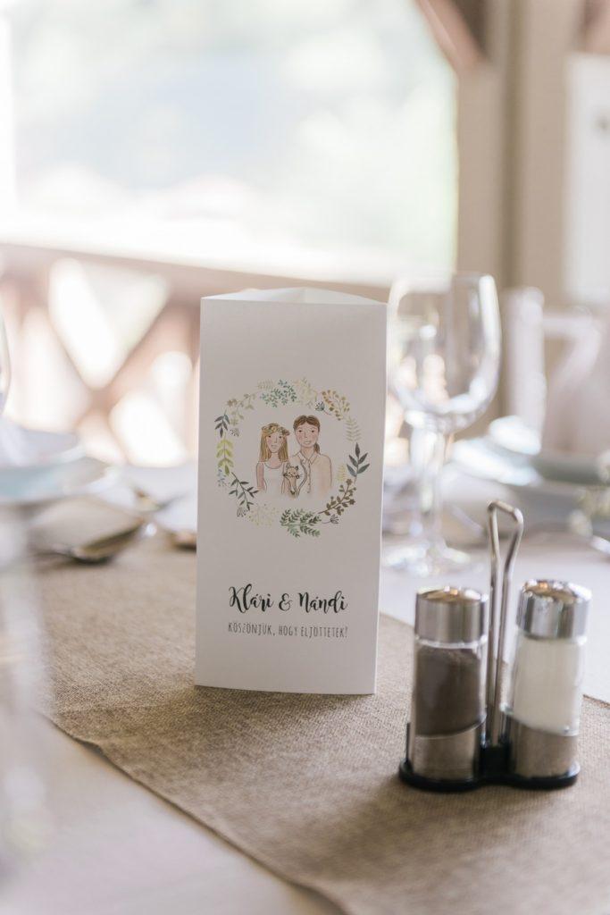 esküvői meghívó ötlet