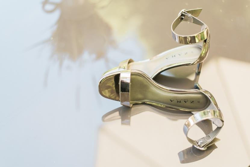 Zara esküvői cipő