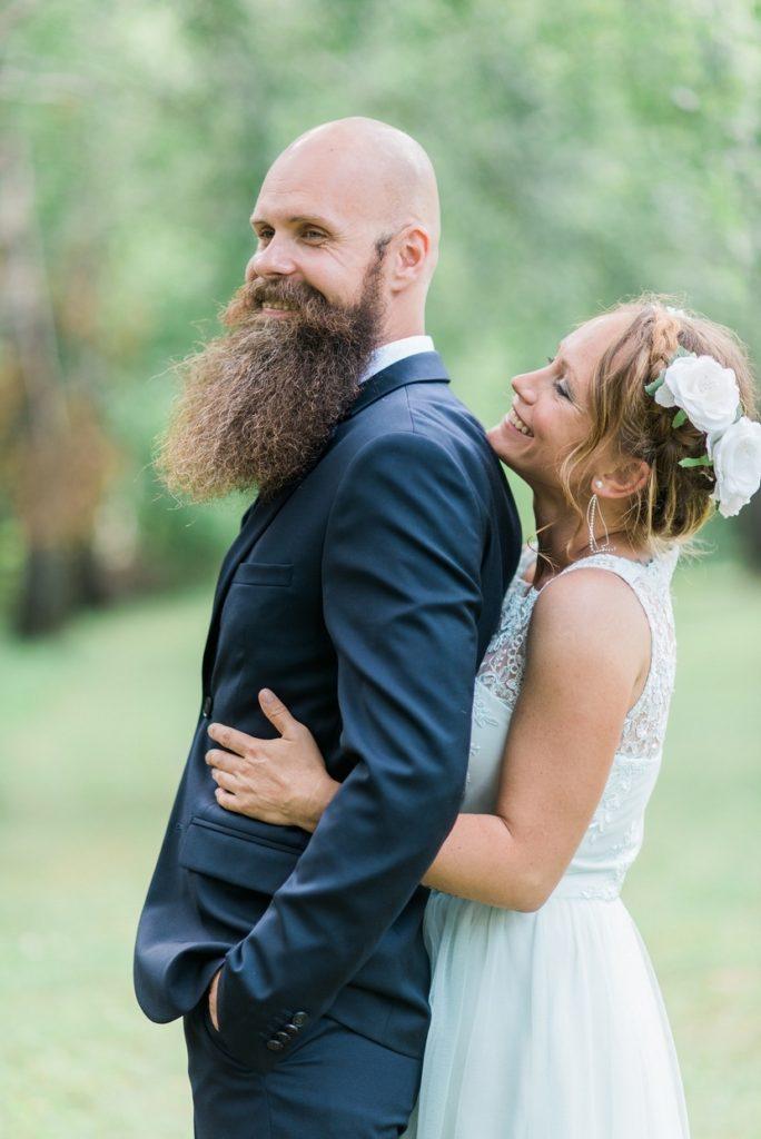 Szentlélek túrista park esküvői fotózás