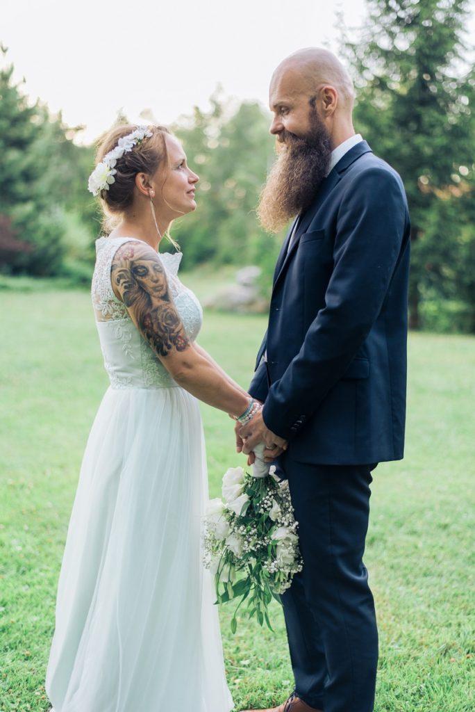 esküvői fotózás Miskolc Szentlélek természet közeli esküvő