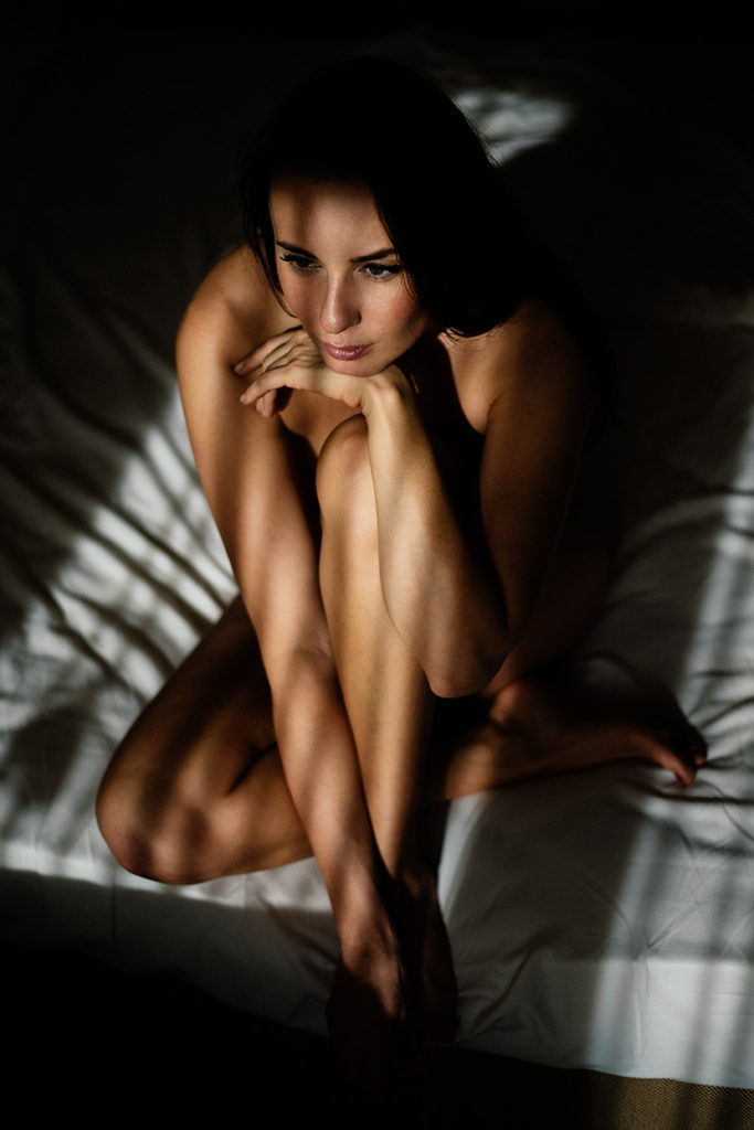 award winning Hungarian intimate boudoir photographer