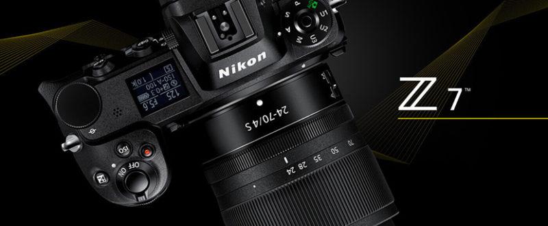 Nikon Z7 full frame MILC teszt